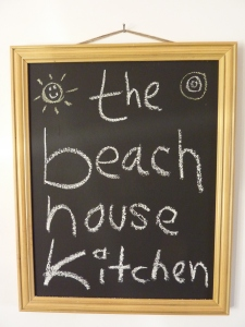 the beach house kitchen