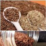 best detoxifying foods -flax seeds