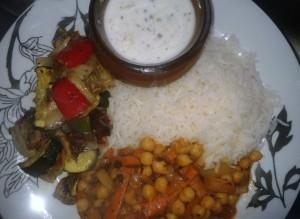 Vegan Mediterranean Feast