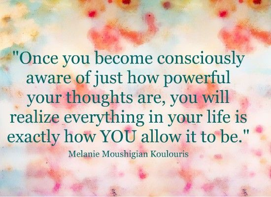 overcome the habit of thinking negative thoughts about yourself