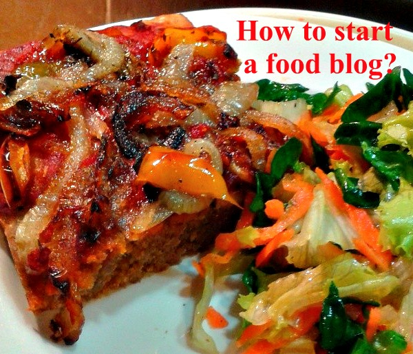 start a food blog today