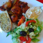 Mediterranean vegan meals meze style -a feast for your senses
