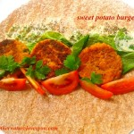 Meatless Monday Vegan Style-Sweet Potato Burgers