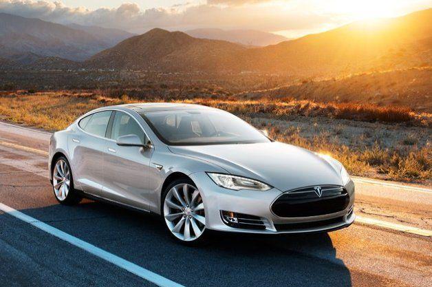 eco friendly electric car tesla
