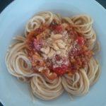 Vegan Bolognese by Manuela Renner
